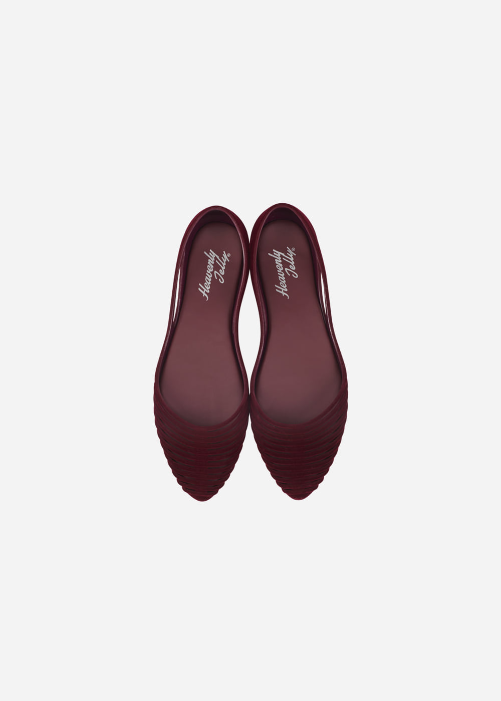 GRACE SUEDE BURGUNDY